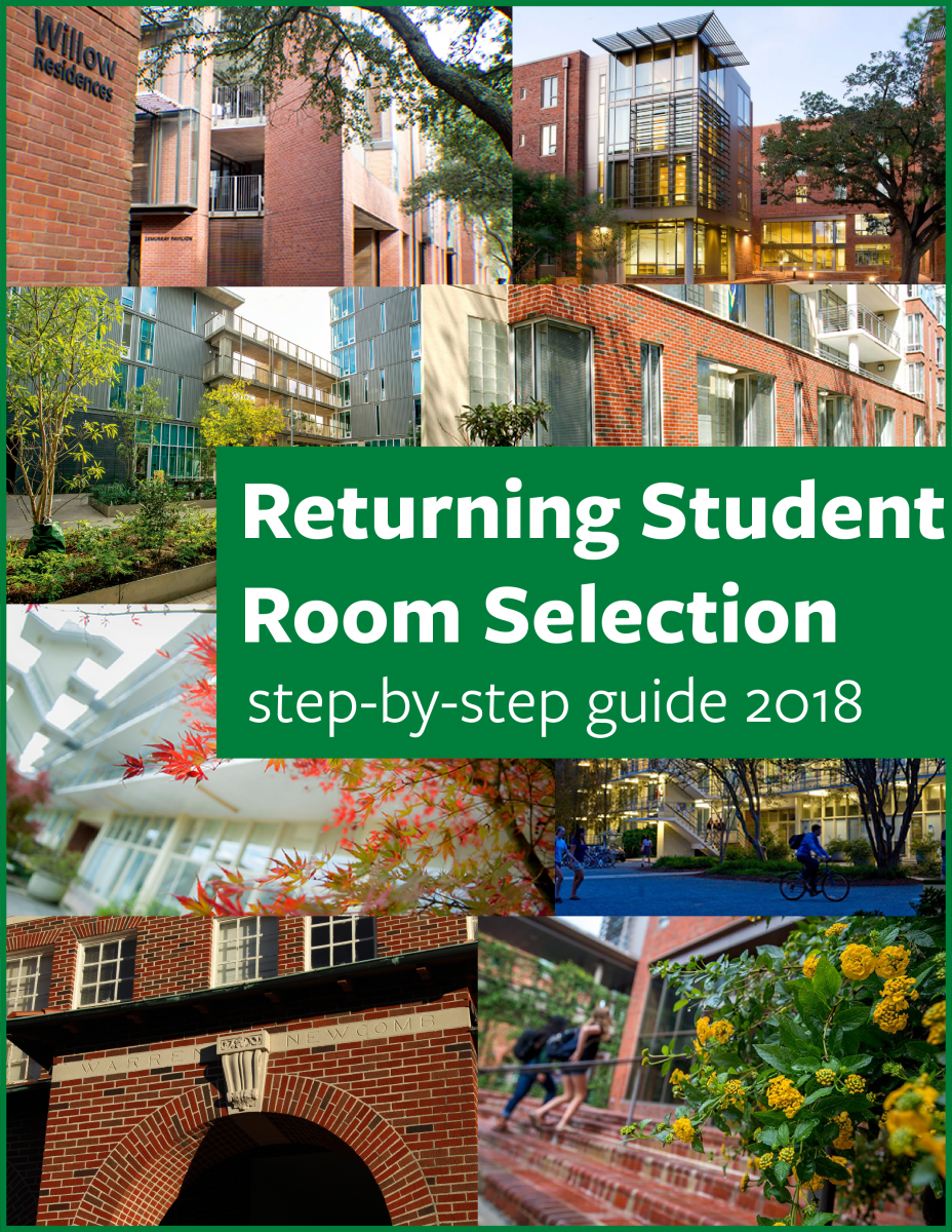 Room Selection Guide 2018